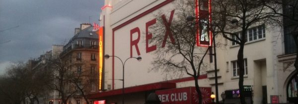The gorgeous Grand Rex Theater